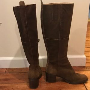 Nine West Tall brown suede boot in size 8